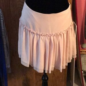 Baby pink Banana Republic skirt